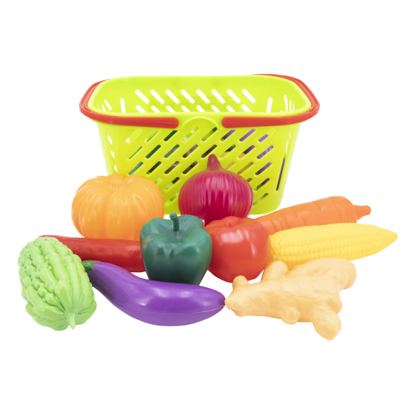 Shopping basket 2376235757. Cesta de verduras.