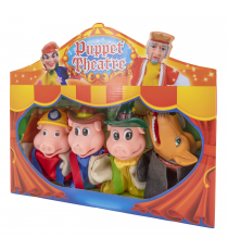 Puppet Theater 540847669. Puppet set: The three little pigs.