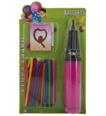 Set of balloons and inflator 5406314899.