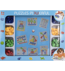 Powerful Puzzle 5401261500. Beads puzzle