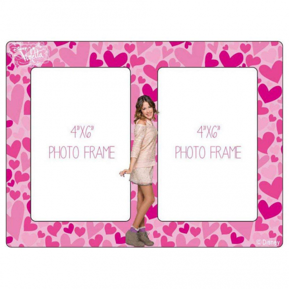 Violetta Photo holder WD91155A double wooden.