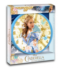 Disney WD16449 en direct Cendrillon Horloge murale