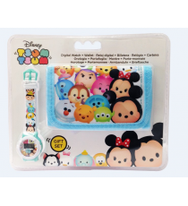 Disney WD16686 Gift Set Tsum Tsum - billetera + reloj digital