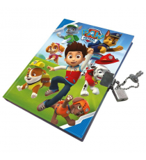 Paw Patrol PW16007- Diary with lock 14 x 18 cm.