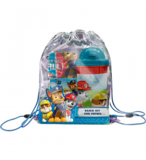Paw Patrol PW16027 Beach Set: towel, bag and water bottle.