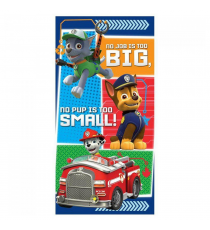 Paw Patrol PW16029 - Rocky, Marshall, Chase towel