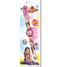 Soy Luna WD18004. Digital clock.