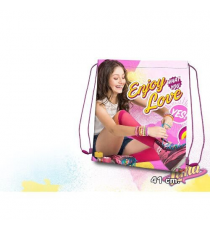 Soy Luna WD18076 - Gym Bag 41 centimetri