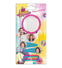Soy Luna WDSL071. Set hair accessories 5 pieces.