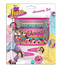 Soy Luna WDSL010. Set hair accessories 11 pieces.