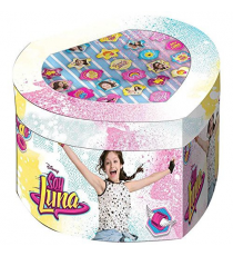 Soy Luna WDSL119 - Enjoy Love 22pz Rings Set.