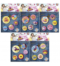 Soy Luna WDS129. Lot de broches