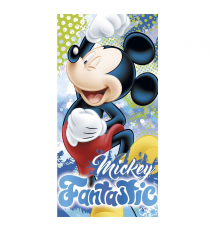 Disney WD17725. Serviette 140x70cm. Conception de Mickey Mouse.