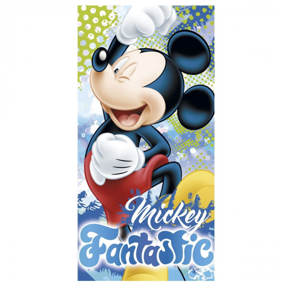 Disney WD17725. Towel 140x70cm. Mickey Mouse design.