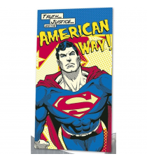Superman DC16014. Toalla.
