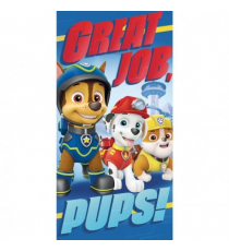 Paw Patrol PW16209M. Asciugamano in poliestere