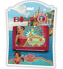 "Disney WD17974. Set reloj digital & billetera ""Elena de Avalor\""."