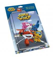 Super Wings WI17010. Diario Led