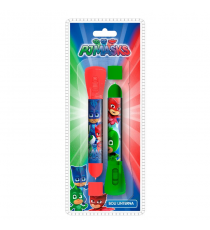PJ Masks PJ17006. Blister 2 pens & flashlight