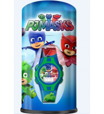 PJ Masks PJ17021. Digital Clock with metal box
