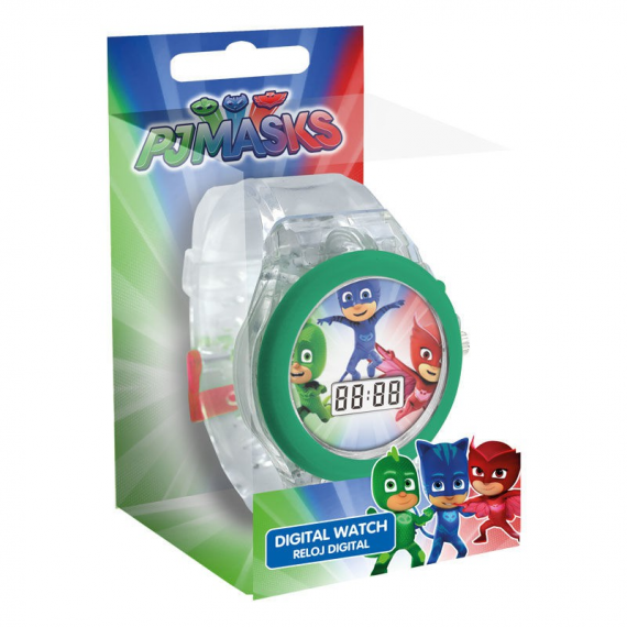 PJ Masks PJ17024. Reloj LED digital