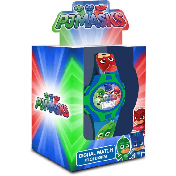PJ Masks PJ17026. Analog clock gift box