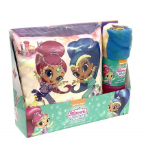 Shimmer and Shine SH17007. Set Cojín & manta polar