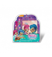 Shimmer & Shine SH17017. Set digital clock, diary & pen.