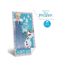 Disney WD19460. Frozen towel. Design Elsa and Olaf.