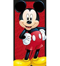Mickey Mouse WD19461M. Polyester towel