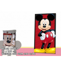 Disney DIS72. Serviette 70x140cm. Conception de Mickey Mouse.