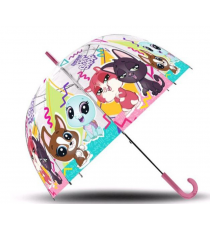 Little Pet LPS17023. Transparent umbrella.