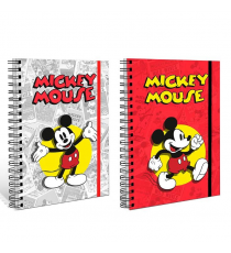 Mickey Mouse WD20184. Notebook with spiral. Random model
