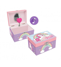Unicorn KL10085. Musical jewelry box