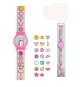 You are special KL10099. Analog clock with beads.