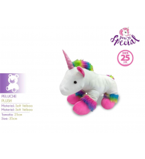 Unicorns KL10119. Unicorn soft toy 25cm.