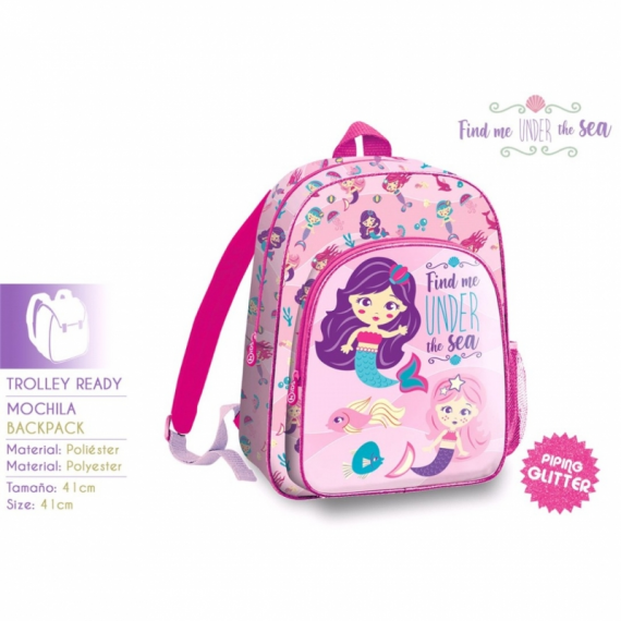 Find Me Under The Sea KL10157. Mochila 41cm.