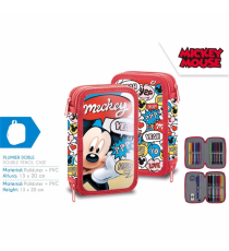 Mickey Mouse MI10172. Plumier doble.