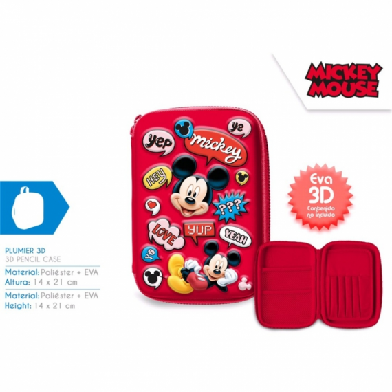 Mickey Mouse MI10173. Plumier 3D.