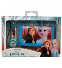 Frozen II WD20751. Set regalo: reloj digital y billetera.