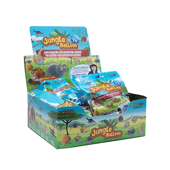 Jungle Ball 2465. Figura suave. Modelo aleatorio.