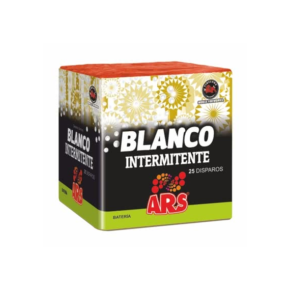 INTERMITENTE BLANCO 25 DISPAROS