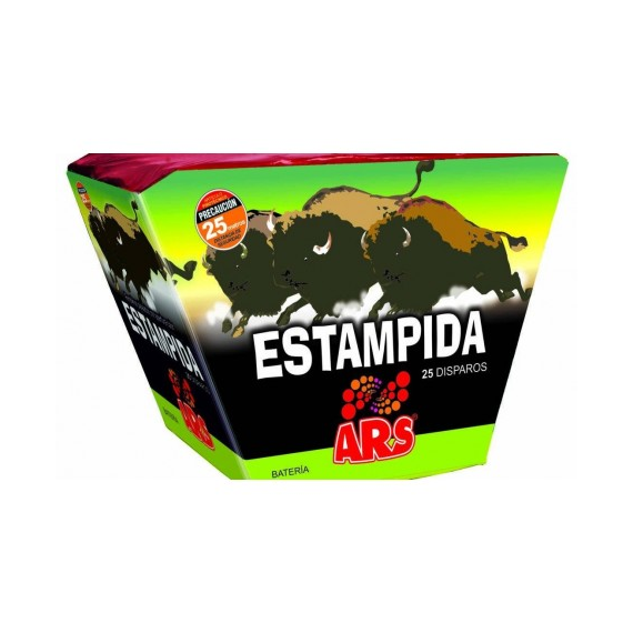 ESTAMPIDA, 25 disparos