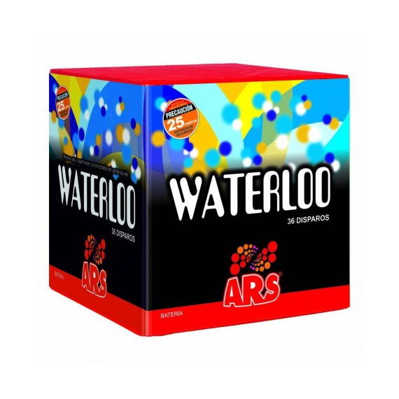 WATERLOO, 36 disparos