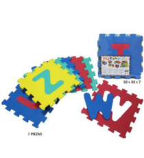 EVA 34091274. Puzzle of foam. 7 pieces.