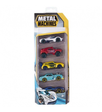 Metal Machines 6709. Pack de 5 coches. Modelo aleatorio.