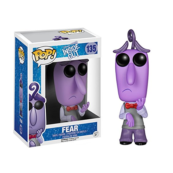 Funko Pop! 4876. Inside Out: Miedo