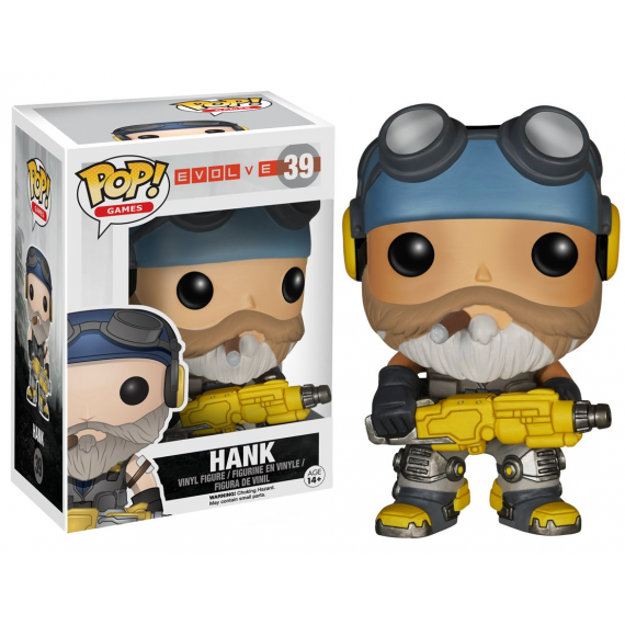 Funko Pop! 5291. Evolve: Hank.