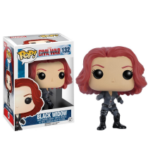Funko 158395. Marvel: Captain America CW: Figurine en vinyle de Black Widow.