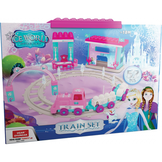 Ice World 128. Set di treni.